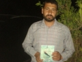 Ihab Qanan receives a copy of TPD in which he is featured #TPD.jpg