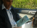 Imad Zouroub receives a copy of TPD in which he is featured #TPD.jpg