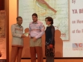 Dr Mahmoud presents some copies of the Prisoners Diaries to the Perdana Leadership Foundation.jpg