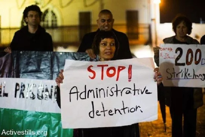 Administrative Detention allows Israel to hold Palestinian prisoners without charge. (Photo: ActiveStills.org, file)