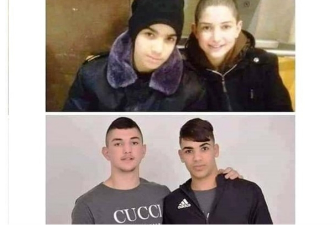 Ahmad Raed al-Zaatari and Shadi Anwar Farrah, both 15, released after 3-year prison sentence. (Photo: via Twitter)