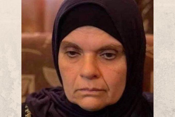 Mother of Palestinian prisoners Amneh Abu Diak. (Photo: File)